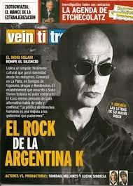 indio solari. revista veintitres. rock de la argentina k.