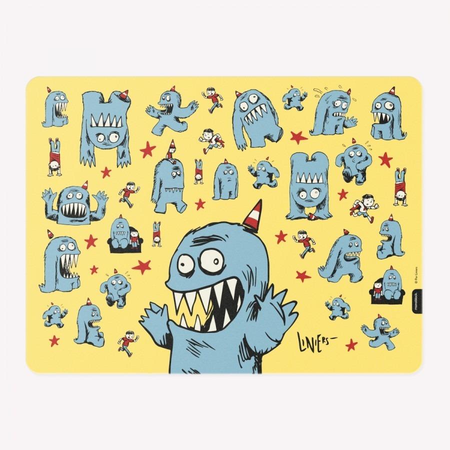 Individual Mantelito Macanudo Olga Por Liniers Monoblock 100  # Muebles Faciles Liniers