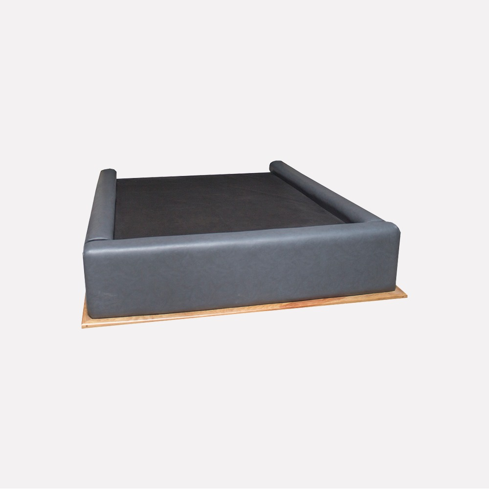 Base cama onix individual recamaras modernas goca muebles for Base cama individual