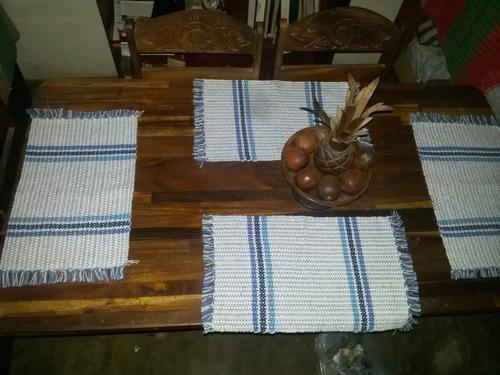 individuales de mesa + camino de mesa