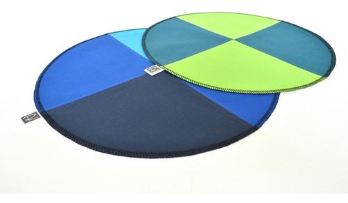 individuales patchwork de lona impermeable