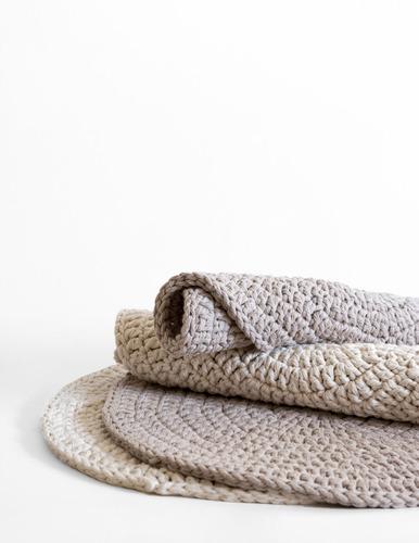 individuales tejidos crochet