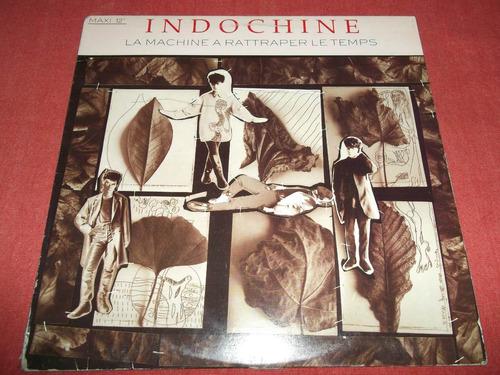 indochine - la machine rattraper maxi lp canada 1987 mdisk