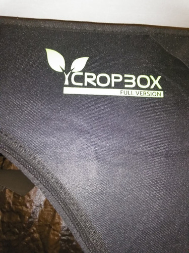 indoor cultivo marca cropbox completo + led panel regalo