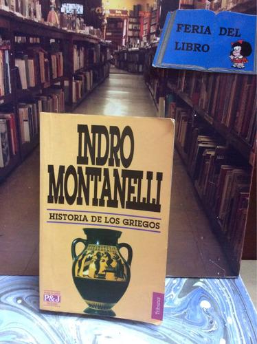 indro montanelli. historia de los griegos
