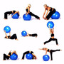 Pelota Para Gimnasio Pilates Yoga Gymball Massageball 75 Cm
