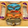 Lentes De Natación Aquatek Modelo Caimán Jr