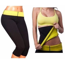 Pack Faja + Calza Hot Pants Neotex Thermo Shaper 5tallascaja