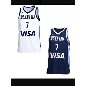 4982ed9d17189 Musculosa Seleccion Argentina Basquet en Mercado Libre Argentina
