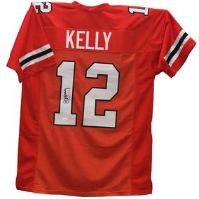 8728760bf1b92 Jim Kelly Jersey Firmado Con Certificado Jsa Whiteness