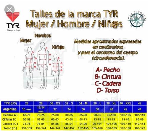 indumentaria enterito s/m triatlon competitor tri tyr mujer