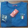 Italia Puma Original Mundial 2006 Franela Algodon Talla Xl