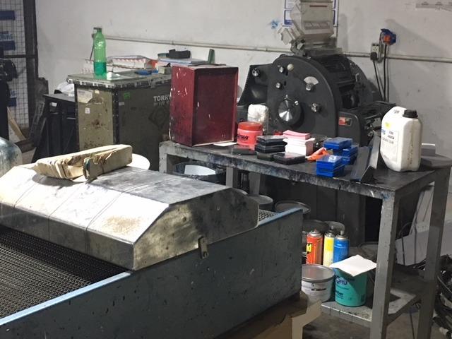 industria grafica imprenta en venta  máquinas + clientela