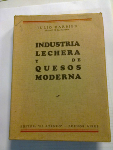 industria lechera y de quesos moderna