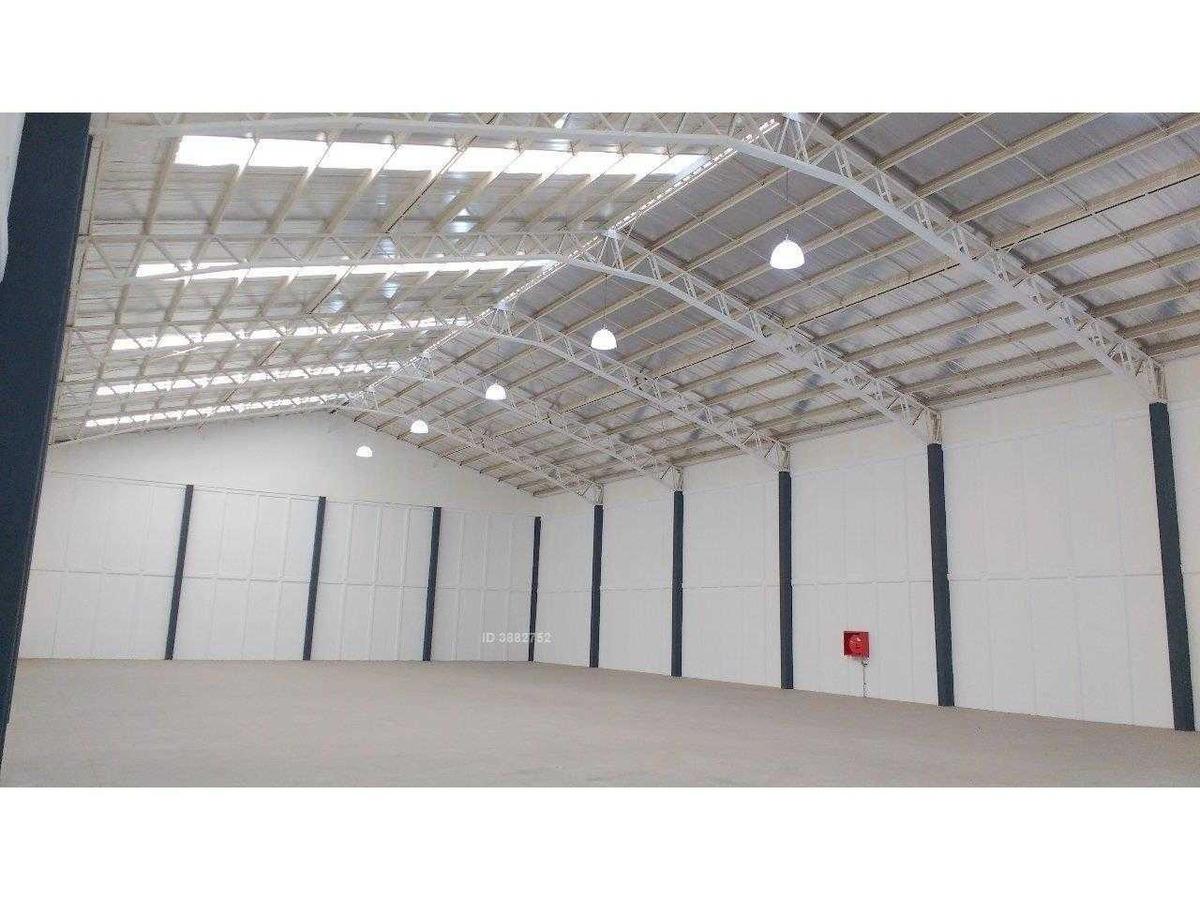 industrial: excepcional estándar. seguridad. inmediato autopista central y vesp.norte. año1:uf0,12 / m2
