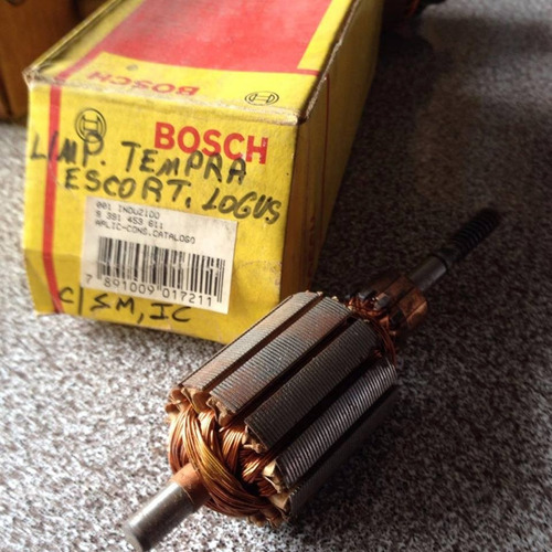 induzido motor limpador escort/ logus/ tempra - bosch