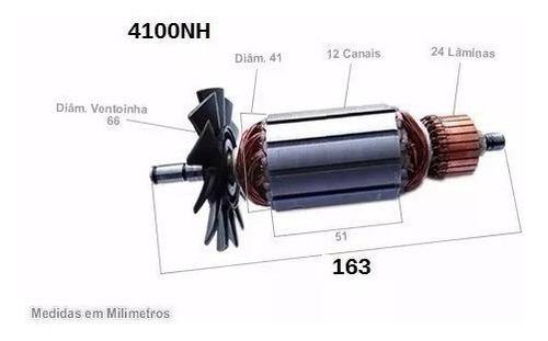 induzido/rotor serra marmore 4100nh 110 ou 220volts