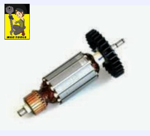 induzido/rotor serra marmore makita 4100ns / 4100nh2 - 220v