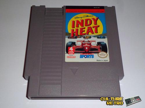 indy heat. 1992. tradewest sports. nintendo nes.