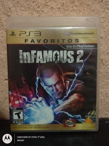 infamous 2 para ps3