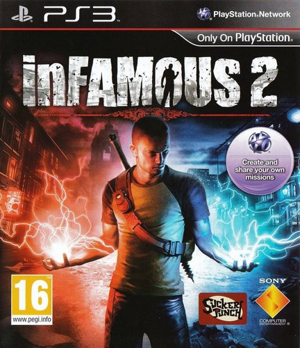 infamous 2 ps3 playstation 3 psn digital