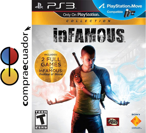 infamous collection playstation3 juegos ps3 disco fisico