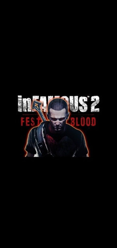 infamous festival of blood ps3 digital+13 juegos más