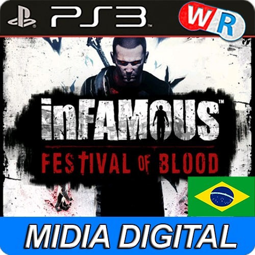 infamous festival of blood psn ps3 play3 dublado br