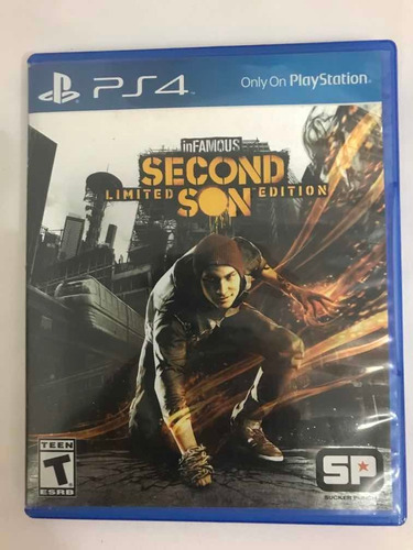 infamous secon son limited edition ps4