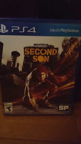 infamous second son ps4 físico