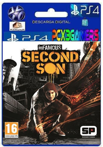 infamous second son  ps4 pcx3gamers