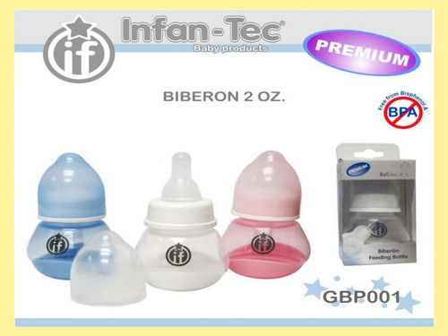 infantec- mamadera 60ml- gbp001
