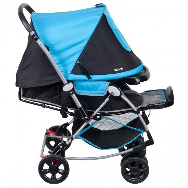 00cd5fc4f Infanti - A516 Genova Coche Cuna Beta Azul - S/ 479,00 en Mercado Libre