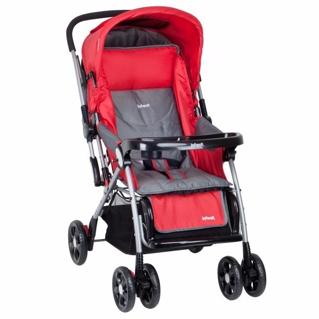3ce34b705 Infanti - Coche Cuna Yazi Colors Red - S/ 399,00 en Mercado Libre