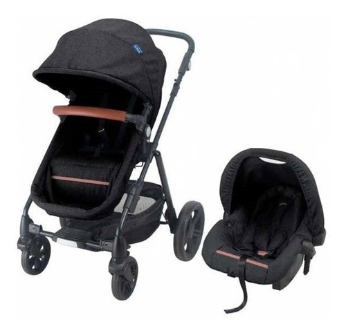 infanti - p68 travel system dark grey