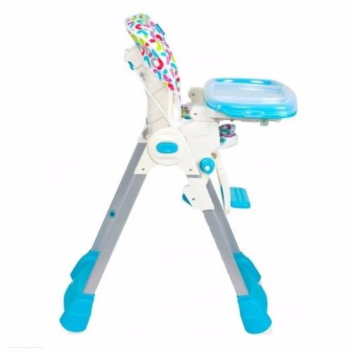 infanti - silla de comer happy meal bg-89 - circle blue