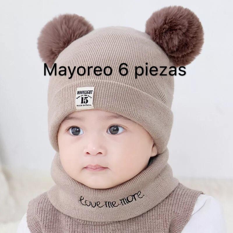 0e6be6e77 infantil bebé invierno sombrero bufanda set para bebé de c. Cargando zoom.