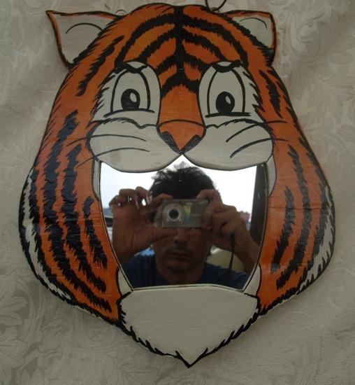 Infantil Espejo De Tigre En Mercado Libre