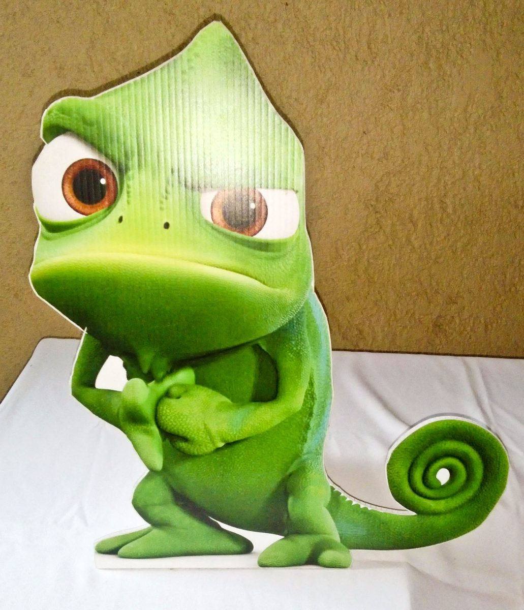Infantil Iguana Dibujo Coroplas 5900 En Mercado Libre