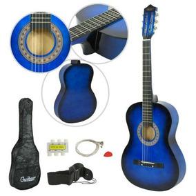 38 Pulgadas Principiantes Practicar Guitarra Acústica C-7408