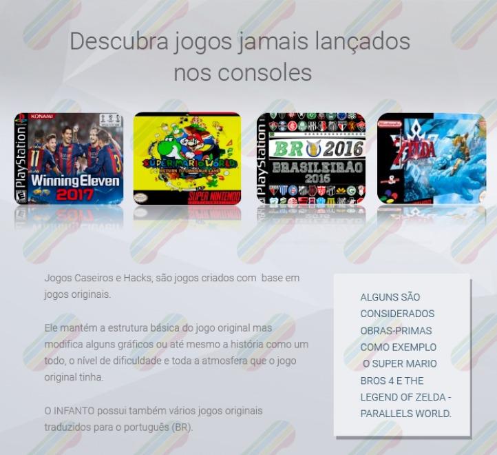 Infanto 3 - Videogame Multiplataforma E Multijogos Em Fullhd - R ... 7f7908c4b3