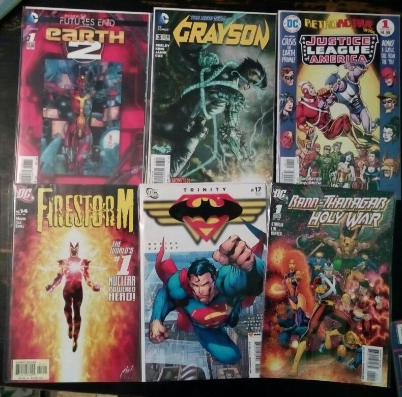 Infinite Crisis, Convergence, 52, Crisis Final, New Gods, Dc