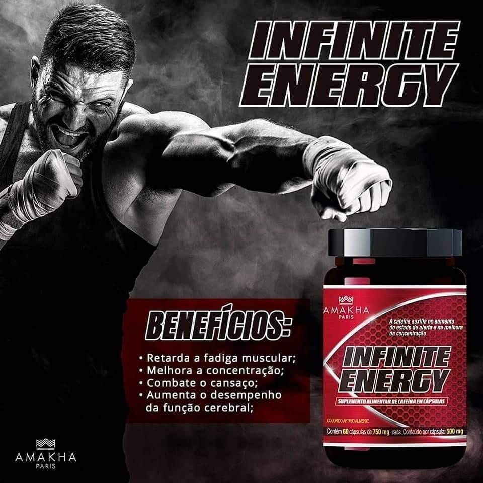 Infinite Energy - Termogênico - R$ 70,00 em Mercado Livre