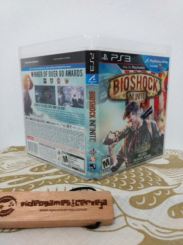 infinite ps3 jogo bioshock