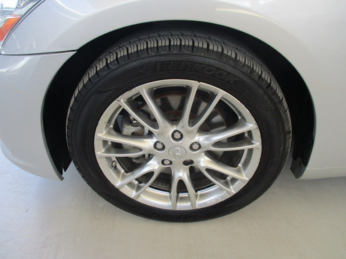 infiniti g37 sedán premium, 6 cil, color plata, modelo 2013