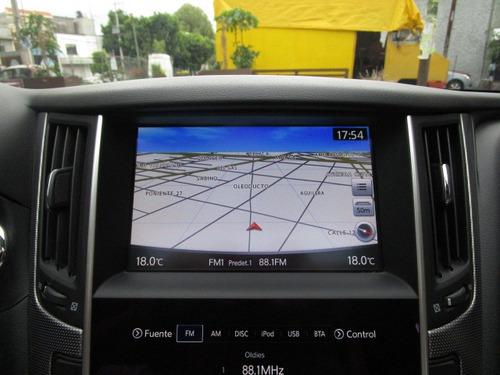 infiniti q50 s 4p hybrido v6,ta,gps,sistema autofrenado,ra19