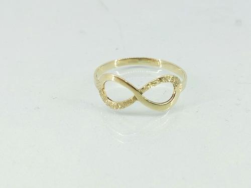 infinito ouro anel