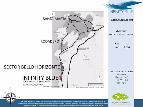 infinity blue, bello horizonte, santa marta, 4 alcobas.