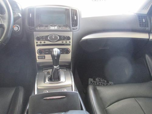 infinity g37 6 cilindros, automatico 2012 negro