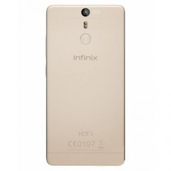 infinix hot s  5.2  13+8mpx 16+3ram dual  huella  dorado
